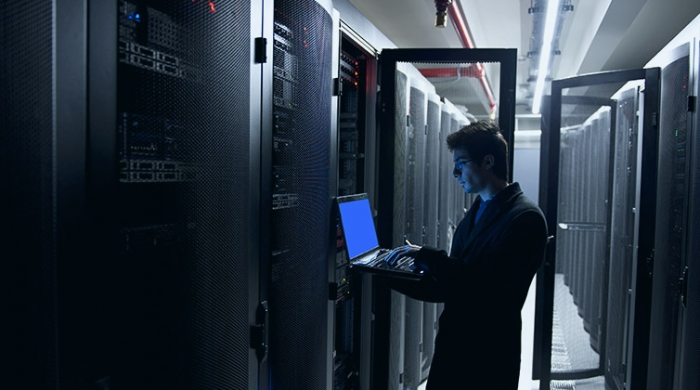 Lavorando sui data center Tim per delle soluzioni e servizi